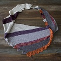 Brittany's Sugarplum Shawl