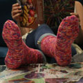 Sarah's Hermoine's Everyday Socks