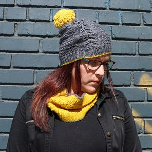 Anzula's Roslindale Hat and Cowl Set
