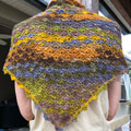 Klara's Triangular Shawl
