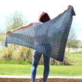 Winni's Exhale Shawl
