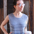 Alex's Shibui Knits Calla Sleeveless Tee