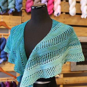 Adrienne's Smooth Sailing Shawl