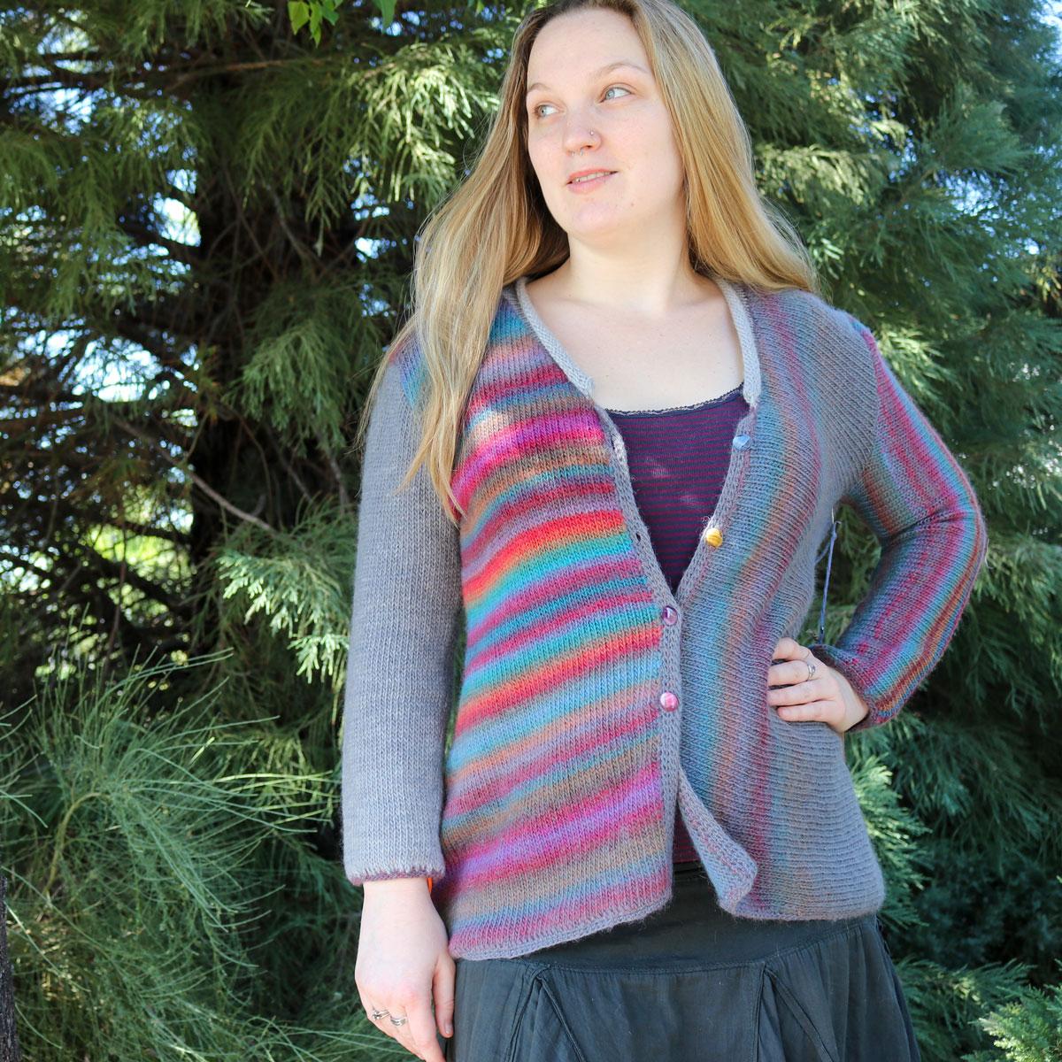Trendsetter Yarns Multi Directional Cardigan - Knitting