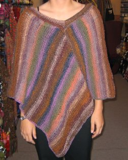 Noro Simple Poncho - FINISHED