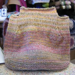English Garden Felted Carpetbag