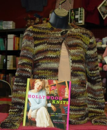 Hollywood Knits Naturwolle Cardigan