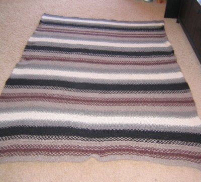 Superyak Blanket - FINISHED 15 months later