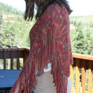 Lion and Lamb Open Waters Shawl