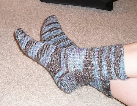 Ashley's Tiny Bubble Socks