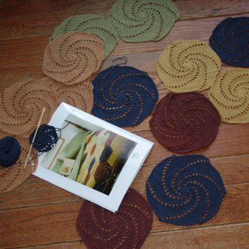 Jeanne's Naturlin Crocheted Salem Throw