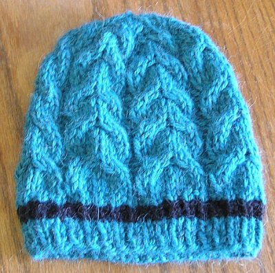 Ashley's Alpaca Journey Cabled Hat