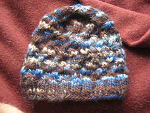 Kristen's Naturwolle Beanie- gift for my brother Jon