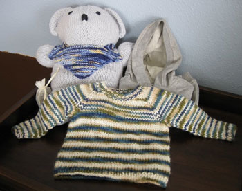 Baby Z's  Bobbi Bear and Sweater