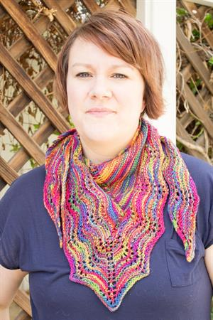 Kristen's Larch Shawl