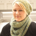 Kristen's Peavine Hat and Cowl Set