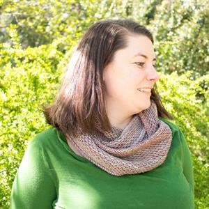 Rachel's Madelinetosh Honey Cowl