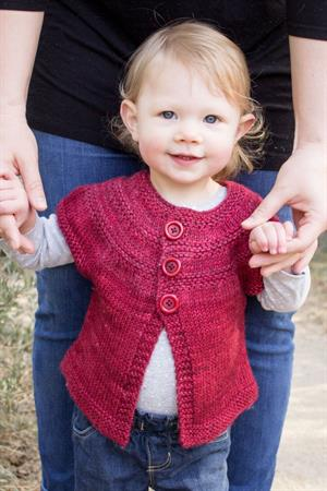 Baby Olive's 'In Threes' Cardi