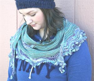 Erika's Ripple Effect Shawl