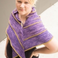 Chris's Echo Strike Fingering Shawl