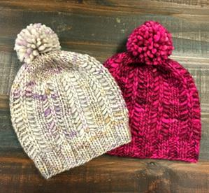 Kristen's Slippery Slope Hats