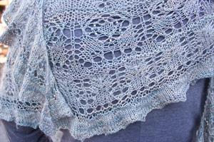 Linette's Be With You Shawl