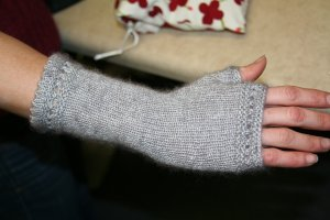 Amanda's Reading Mitts