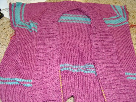 Jeanne's Knitting Pure and Simple Cardigan