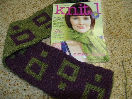 Jeanne's Double Knit Scarf