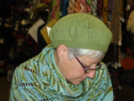 Sandy's Love it or Leaf it Beret
