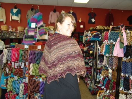Jeanne's Traveling Woman Shawl