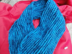 No Mistake Crochet Scarf
