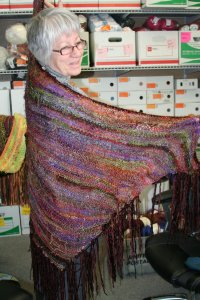 Sandy's Wild Stuff & Touch Me Shawl