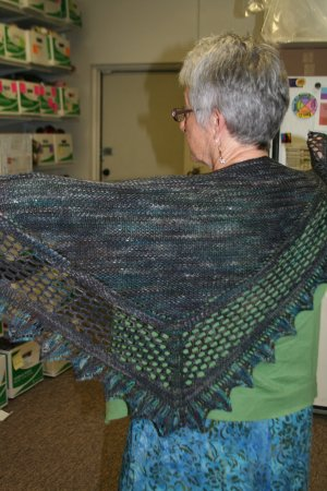 Barb's Aestlight Shawl
