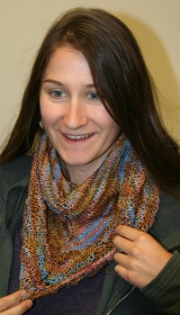 Bethany's 'I Have No Idea' Shawl