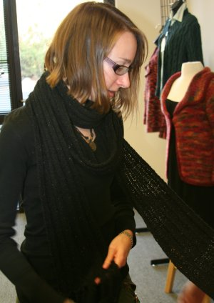 Leanne's Basic Ribbed Scarf