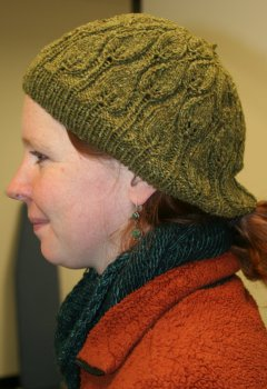 Autumn's Rustling Leaves Beret