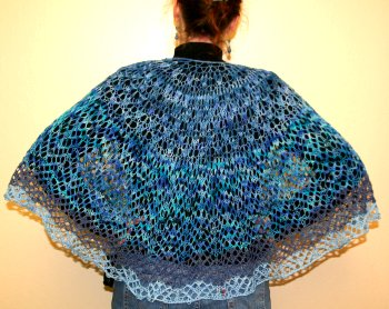 Monika's Water Turtles Shawl