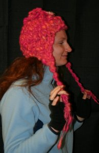 Monika's Pixie Dust Earflap Hat
