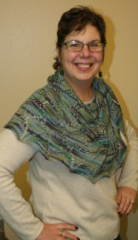 Jeanne's Rule of Three Shawl Gift (Thanks Beth Casey!)