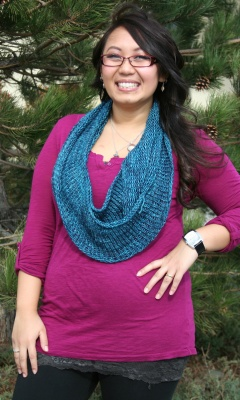 Courtney's Basic Stockinette Cowl