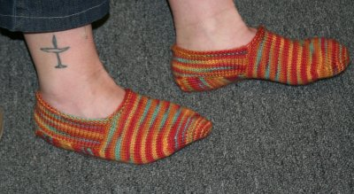 Jeanne's Turkish Bed Socks for Bethany