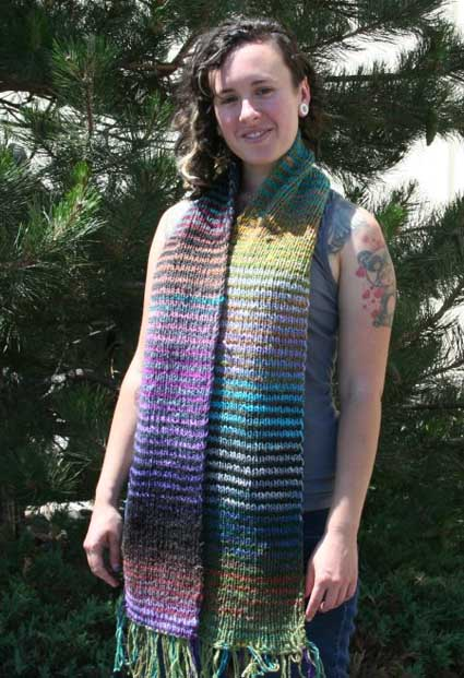 Sharon's Noro Scarf