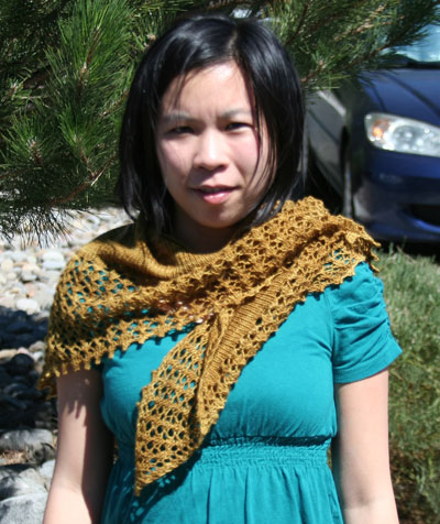 Jeanne's Crashing Waves Shawl