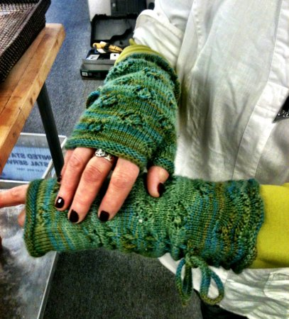 Jeanne's Downton Abbey Mystery KAL Mitts