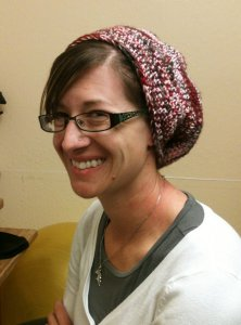 Amanda's Crocheted Lorna's Laces Hat