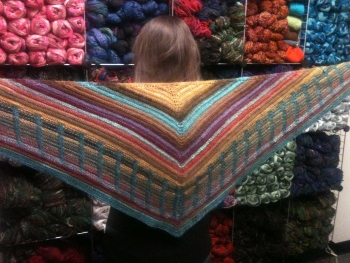 Shevawn's Metalouse Shawl