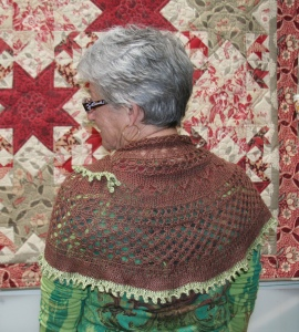 Sandy's Summer Flies Shawl