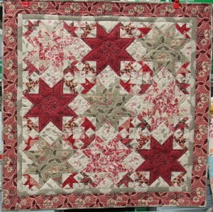 Gus's Chateau Rouge Quilt