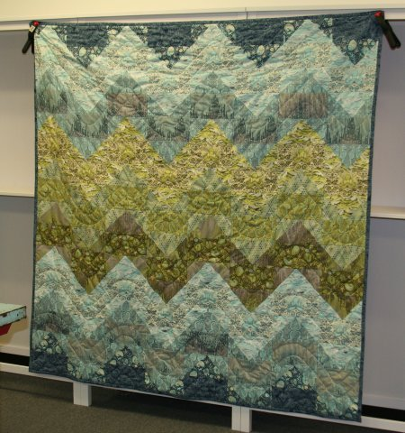 Monika's Tranquil Waters Quilt
